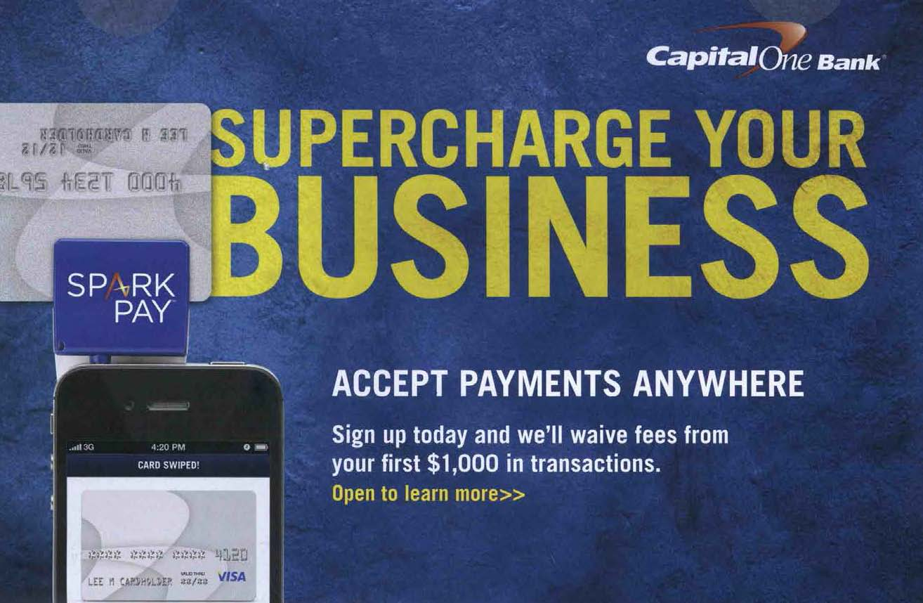 Capital One Spark Pay Extends the Small Business Sub-brand - Media Logic