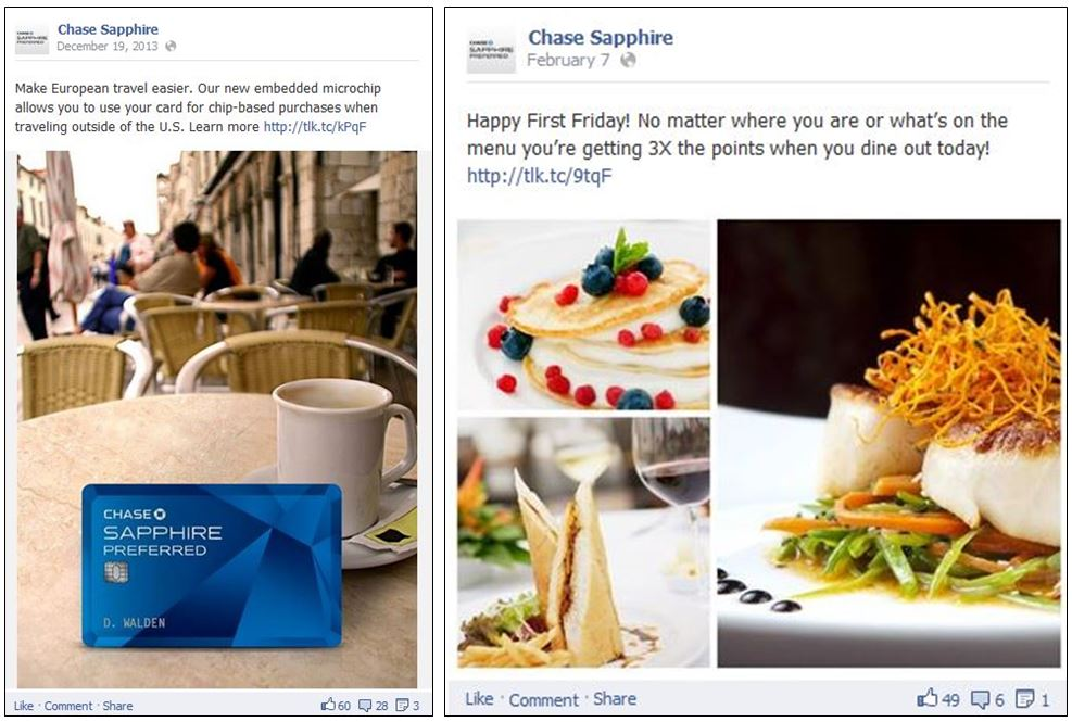 Chase Sapphire Preferred Gets It Right In Social Media