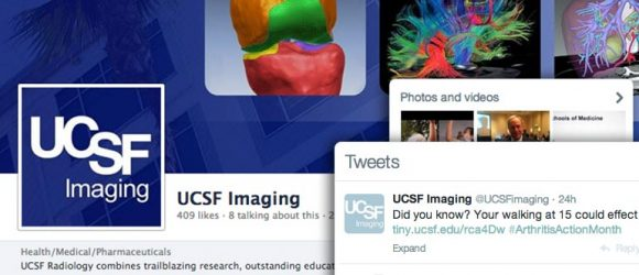 social content marketing success story from UCSF Imaging