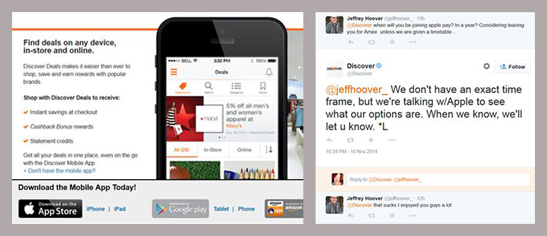 Discover Takes a Mobile-First Approach to Deals and Holiday Offers