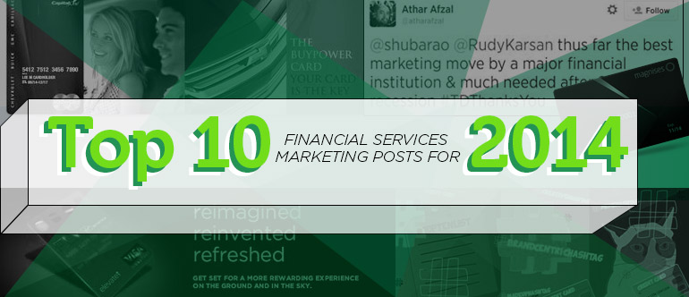 Top 10 Financial Services Marketing Posts for 2014