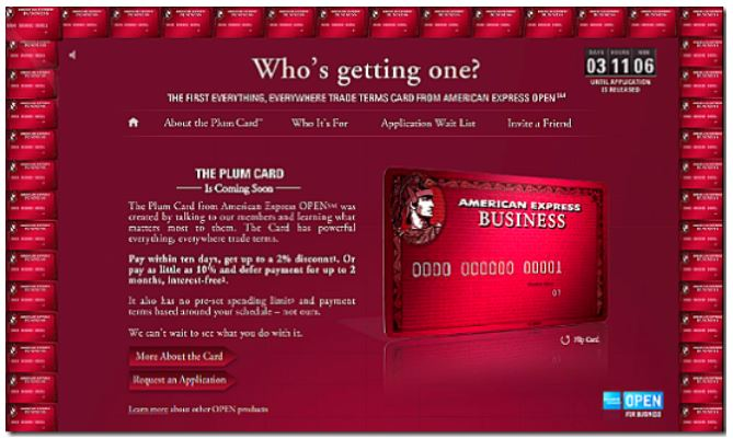 Rethinking an amex marketing campaign for the plum card amex plum 01 colourmoves