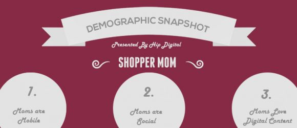 Shopper mom targeting for financial services marketers