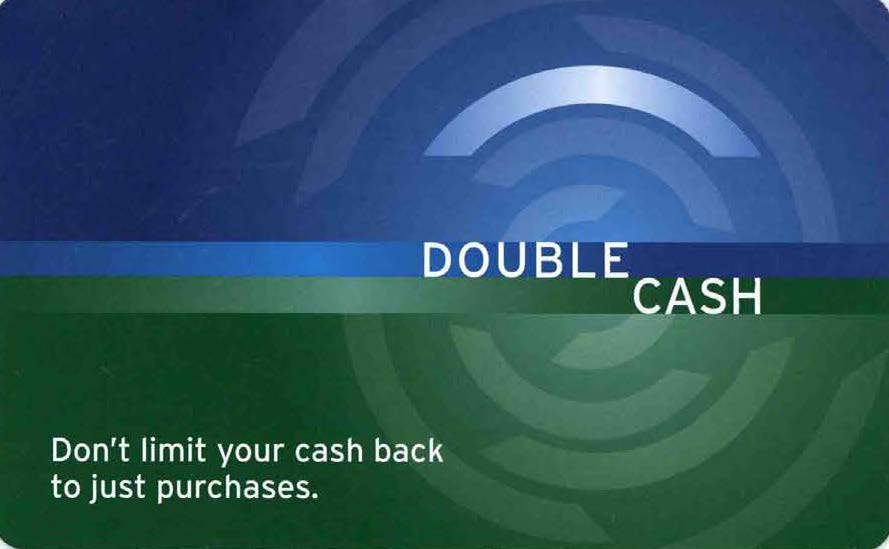 Citi Double Cash Back Welcome Kit insert