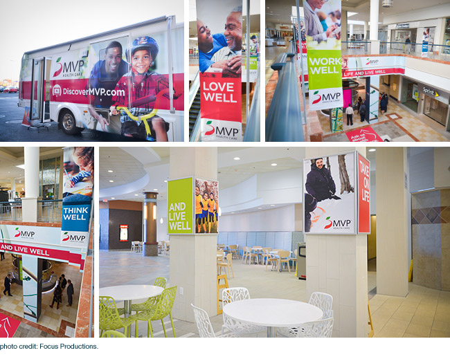 Community outreach and presence reinforces brand for health insurer MVP