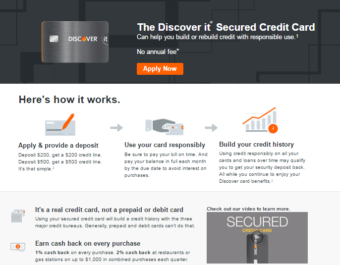 Discover offers unexpected secured card perks