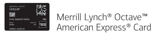 Merrill Lynch presents Octave American Express card by invitation only