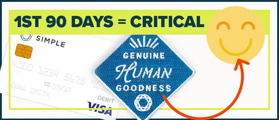 The first 90 days are critical to the customer experience