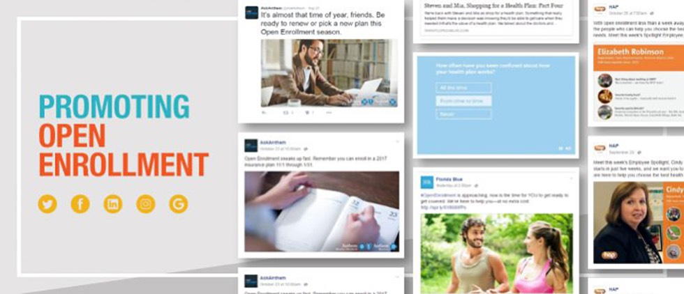 Health Insurers Use Social & Web to Promote Open Enrollment