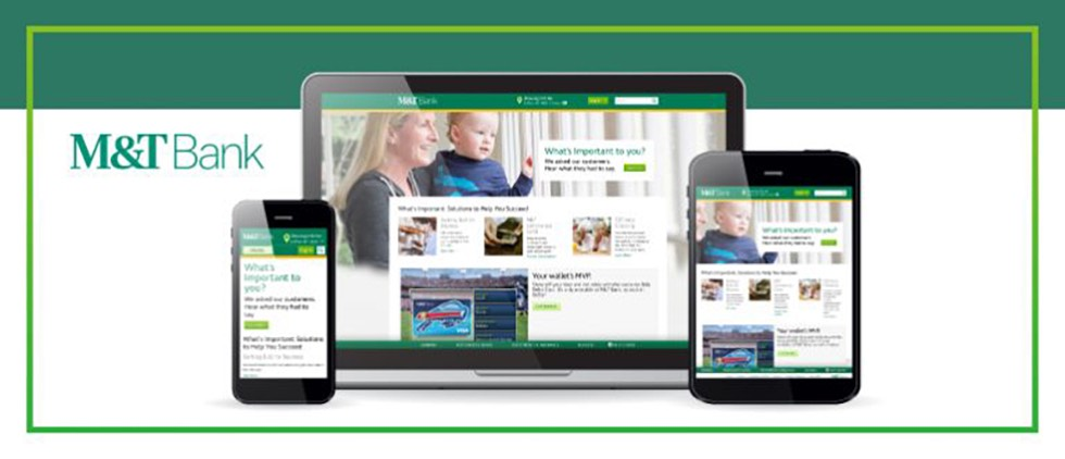 How and why M&T Bank promoted responsive design during website relaunch