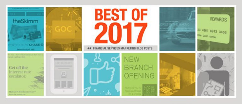 Top Financial Services Marketing Blog Posts of 2017