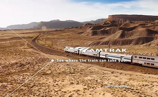 When I First Saw The Simple Point And Lines Used By Amtrak Got It Right Away Like Connections On A Train Map This Graphic Element Represents