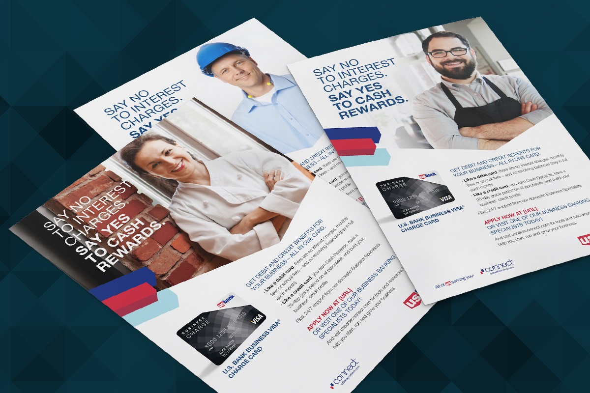 Small business marketing connects us bank with a valuable segment by providing strategic and promotional guidance for new portfolio launches major product promotions and lifecycle communications weve helped us bank reheart Gallery