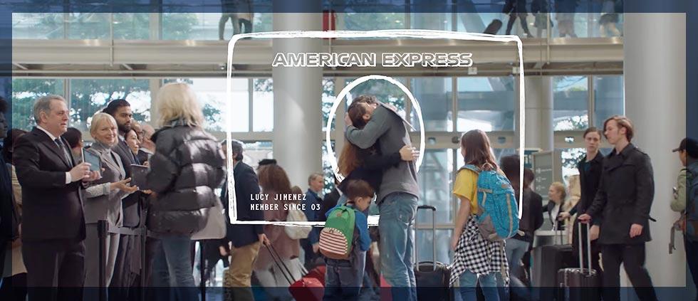 New Amex brand campaign