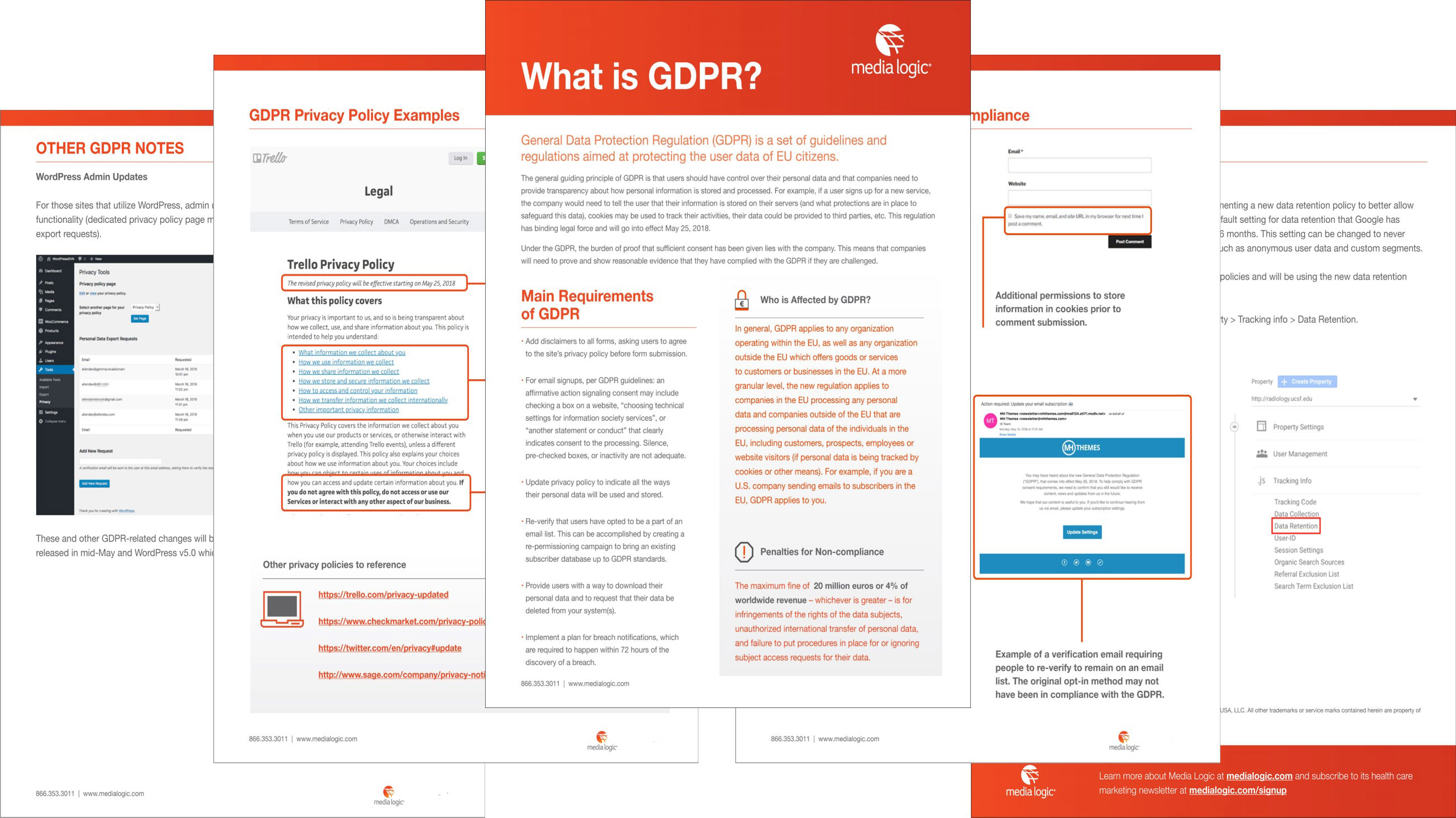GDPR Overview from Media Logic