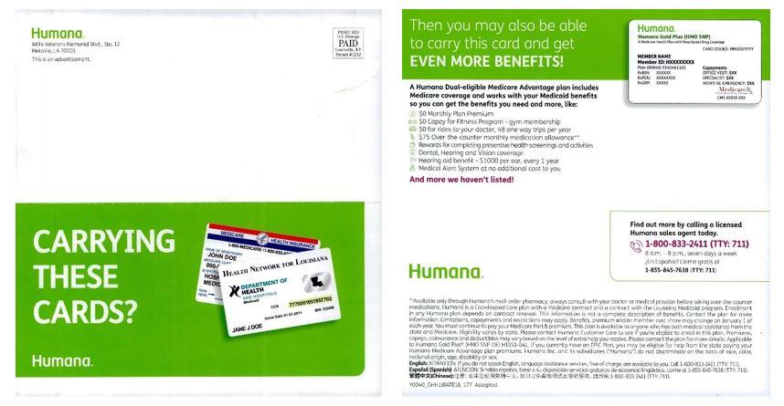 humana - D-SNP marketing - 1