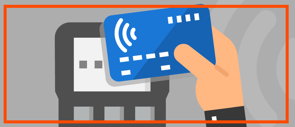 Contactless card marketing from Chase & Visa