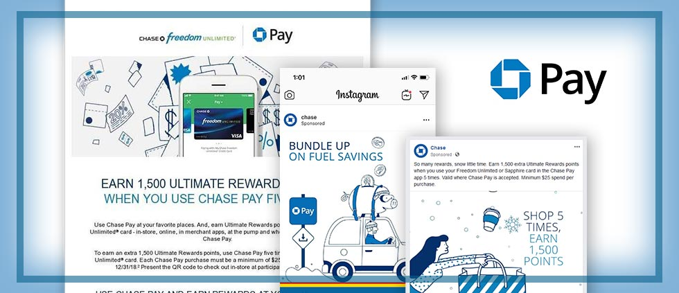 Chase Is Marketing Chase Pay With Multiple Offers