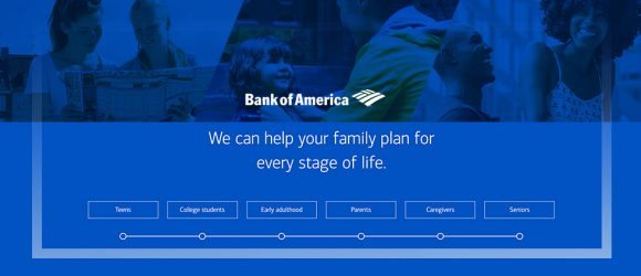 Bank of America life stage marketing
