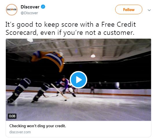 Discover offers free credit score