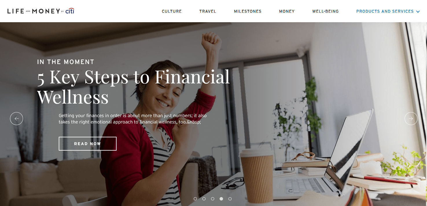 Citi Financial Education Content Hub