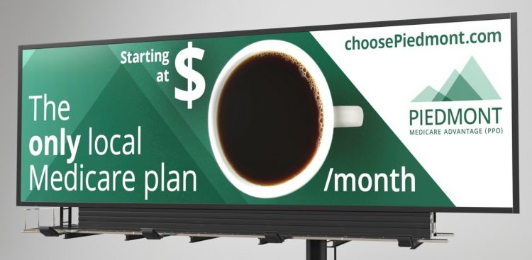 Billboard. The only local medical plan.