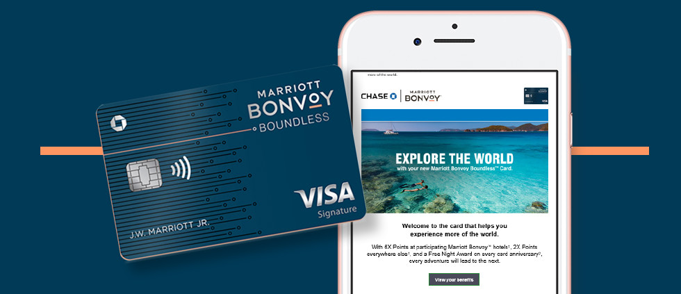 Review of EMOB marketing email for the Marriott Bonvoy
