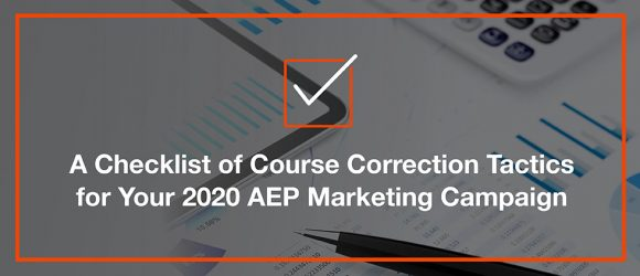 2020 AEP course correction checklist