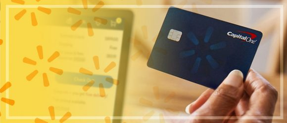 Capital One Walmart credit card marketing