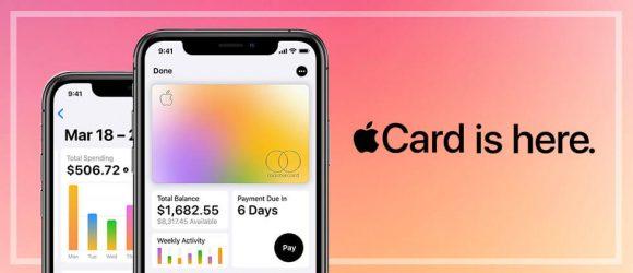 Apple credit card marketing