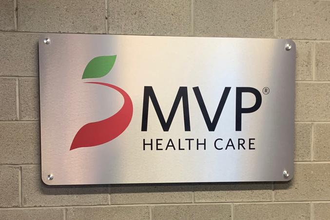MVP brand sign