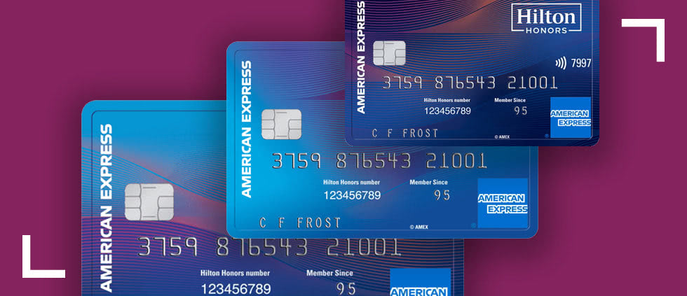 Hilton Honors Amex direct mail marketing