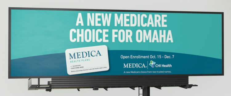 Medica billboard displaying