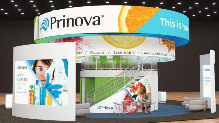 Prinova Tradeshow Booth