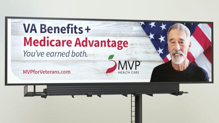 MVP 2020 Veterans Campaign Billboard