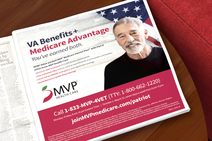 MVP Veterans print ad