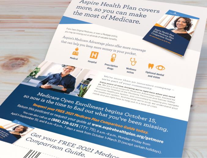 Aspire Health opened self mailer