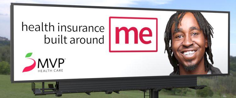 MVP Brand campaign billboard