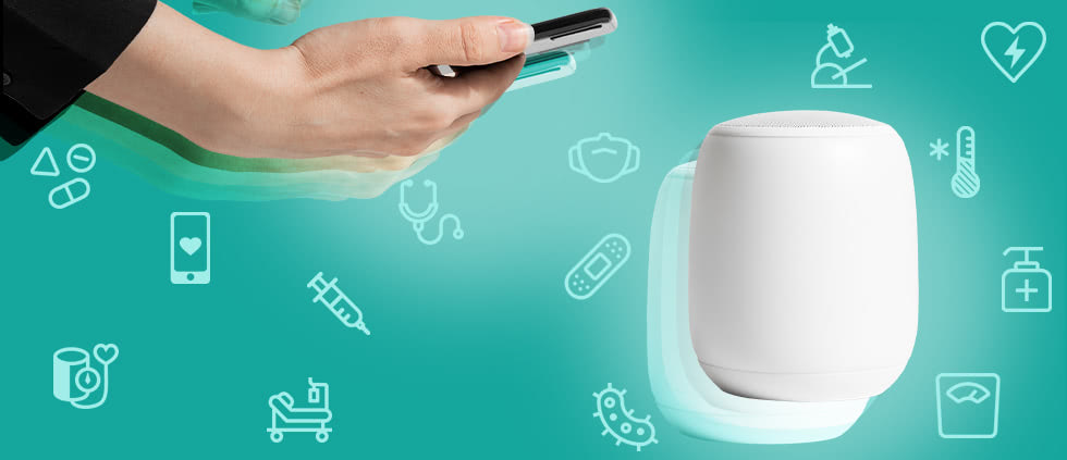 hc insights - smart speakers and voice assistants